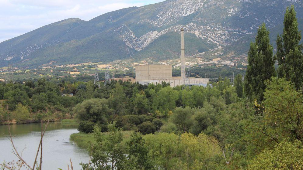 Foto: La central nuclear de Santa María de Garoña, en Burgos.