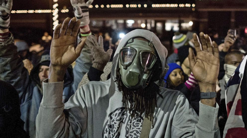 La ira de Ferguson se extiende a 170 ciudades en todo Estados Unidos