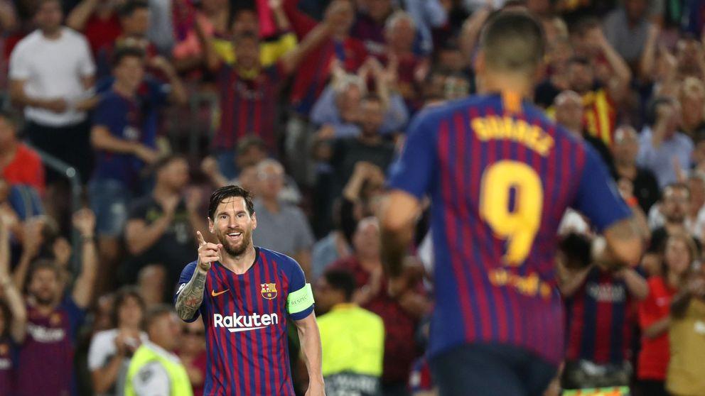 Griezmann y Cristiano, a esforzarse para arrimar la silla a la mesa de Messi