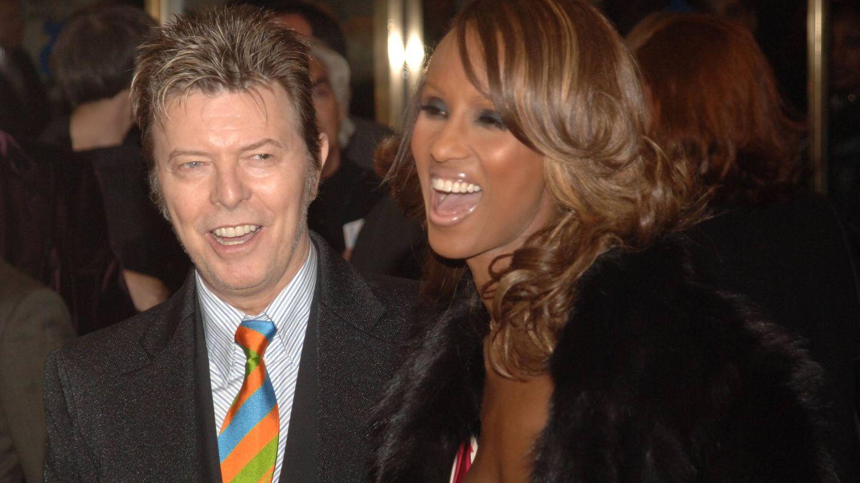 Bowie e Iman, en 2005. (Getty)