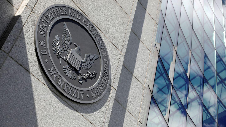 Logo de la Comisión de Bolsa y Valores de EEUU (SEC, por sus siglas en inglés). (Reuters)