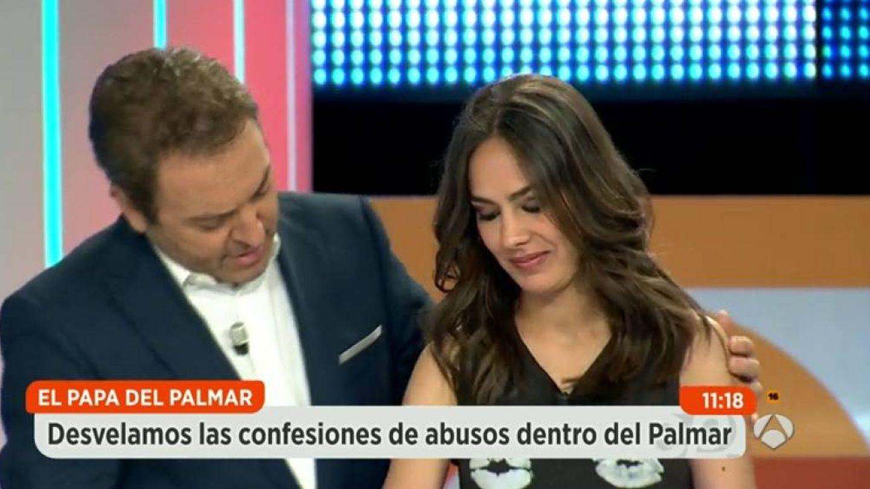 María Miñana con Albert Castillón.