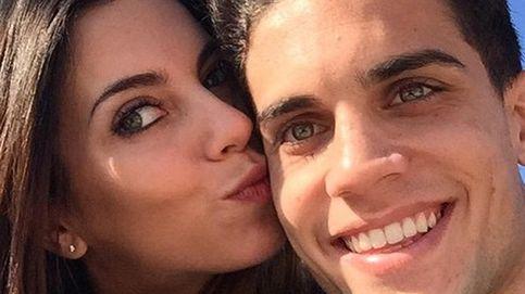 Marc Bartra y Melissa Jiménez anuncian embarazo