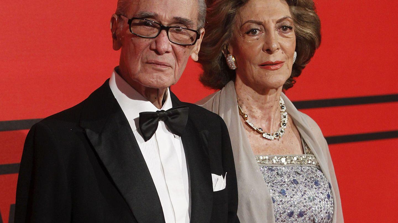 Pitita Ridruejo y su marido, Mike Stilianopoulos, en 2013. (EFE)