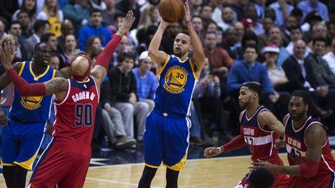 Curry firma 51 puntos ante los Wizards para hacer historia con Golden State