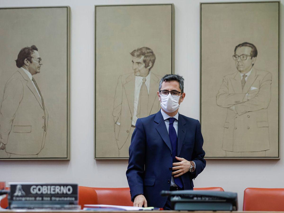 Foto: El ministro de la Presidencia, Félix Bolaños. (EFE)