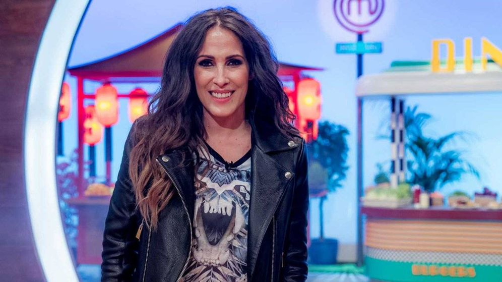 Foto: Malú, en 'MasterChef Junior'. (TVE)