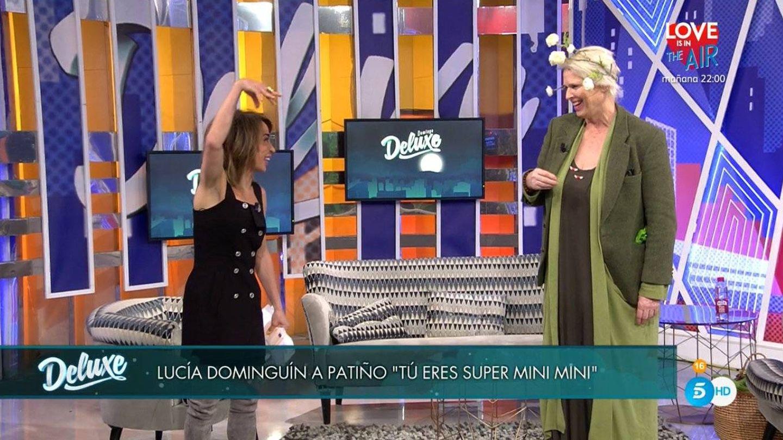 María Patiño y Lucía Dominguín. (Mediaset)