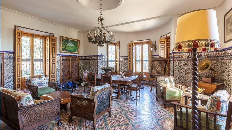 Interior de la mansión de Ramón y Cajal.