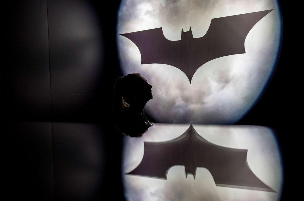 Foto: Exposición sobre superhéroes en Londres (EFE)