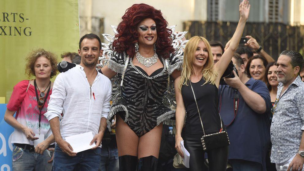 Amenábar, Sandra Barneda y Cayetana Guillén Cuervo dan comienzo al Orgullo Gay en Madrid