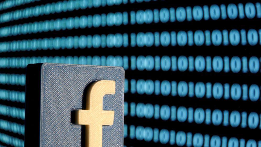 Foto: El logo de Facebook (Reuters)
