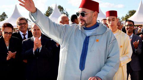 Mohamed VI, pillado en Casablanca (¿no estaba enfermo?)