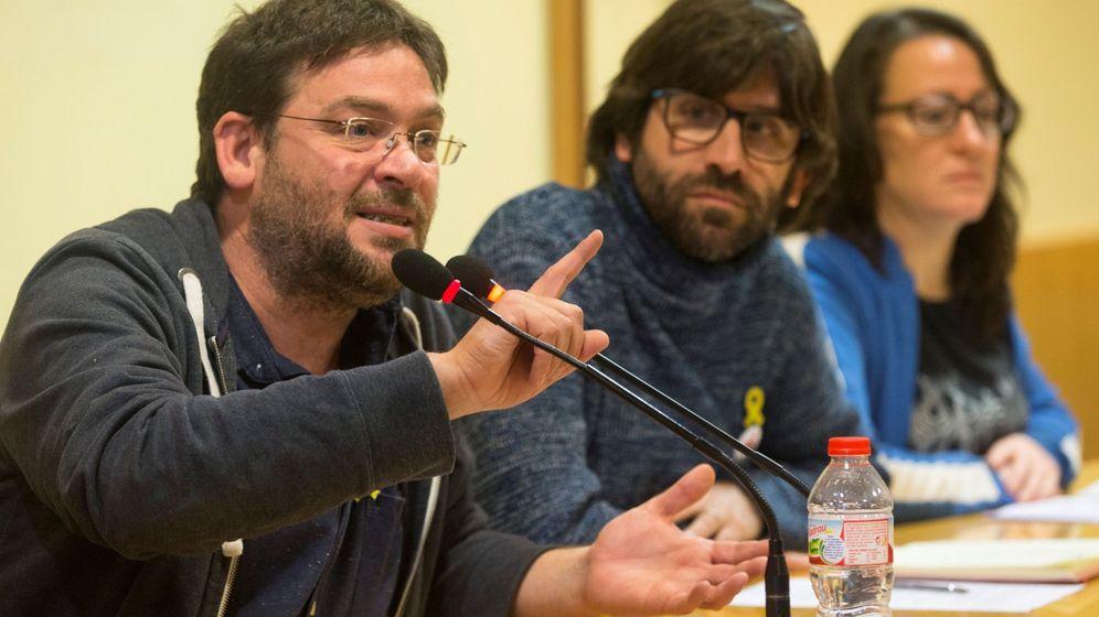 Foto: Dante Fachin, el día en que presentó Poble Lliure. (EFE)