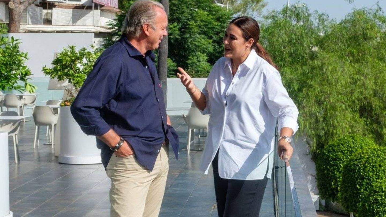 Bertín Osborne y Vicky Martín Berrocal. (Mediaset)