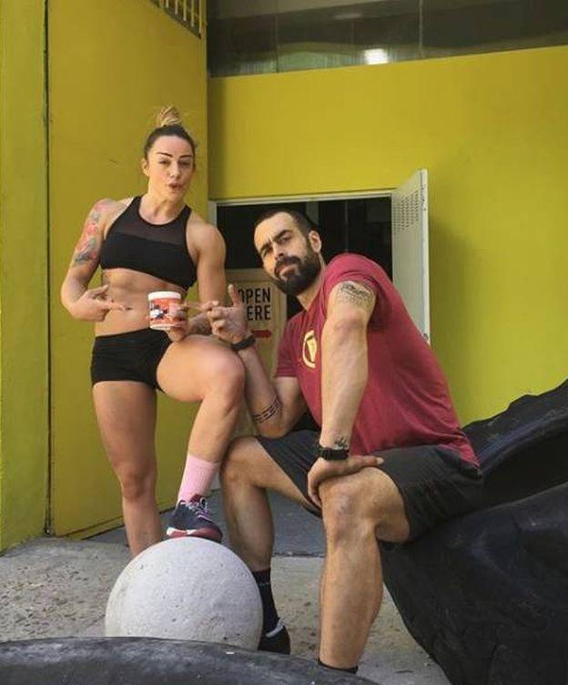 Foto: Nono y Nat Díez, los dos representantes de CrossFit en España. (Foto: Instragram @ElCoachNono)