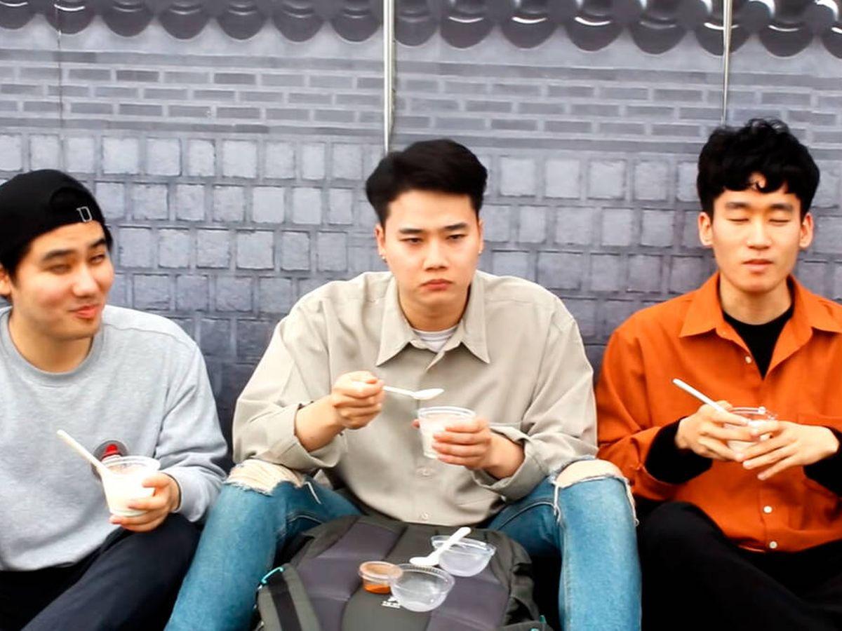 Foto: Los miembros de Pandita Chan sucumbieron a los encantos del arroz con leche (YouTube)