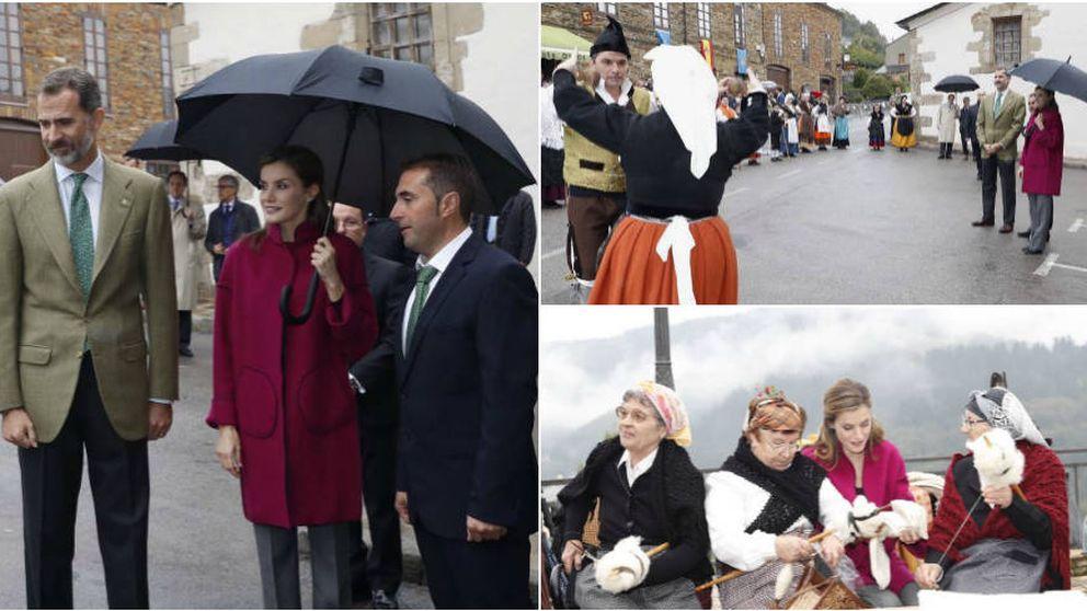 Moda asturiana y regalos para Leonor y Sofía: la última parada de los Reyes en Asturias