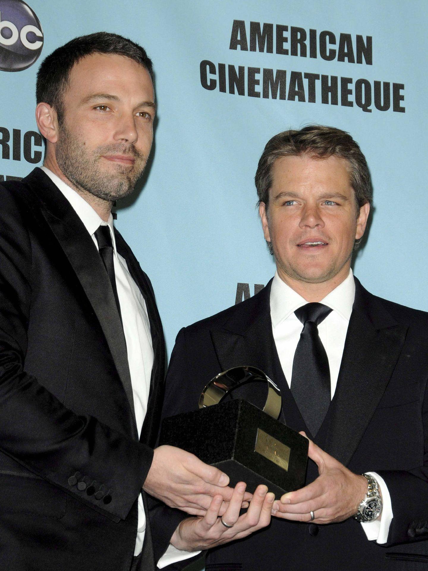 Matt Damon y Affleck en 2010. (EFE)