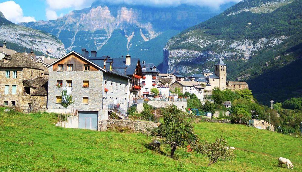 Foto: Torla, la puerta de entrada al impresionante valle de Ordesa. (Cortesía Hotel Ballarin)