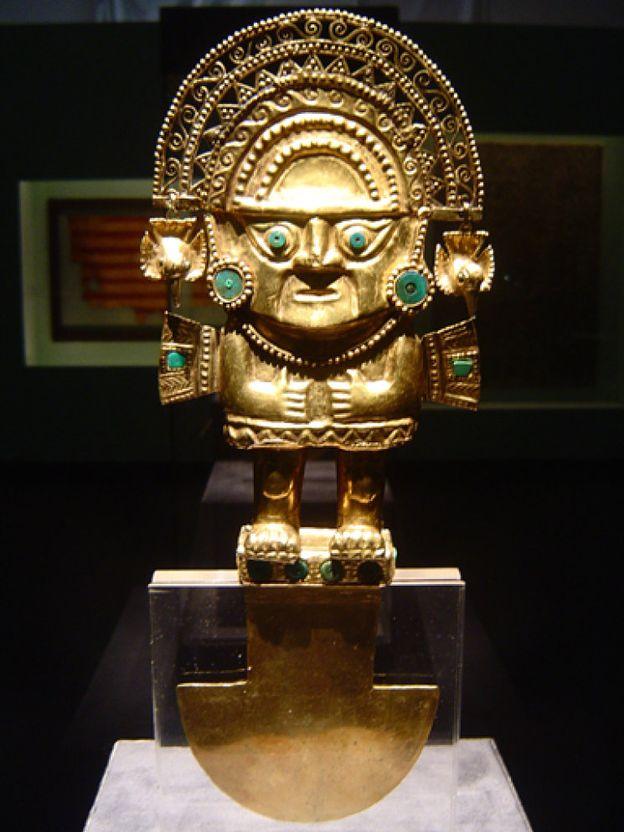 Foto: El oro de los incas llega a China en una muestra sin precedentes
