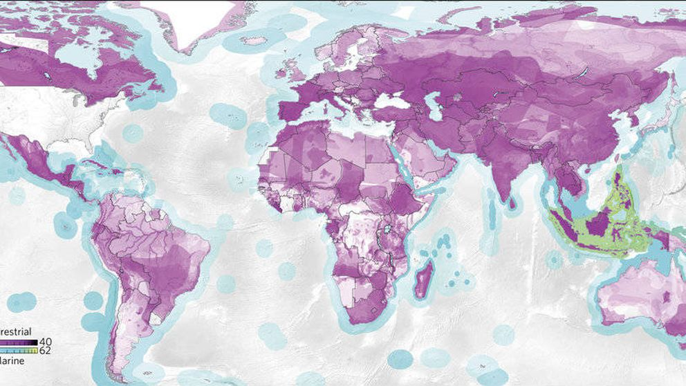 Ocho mapas que demuestran que nos estamos cargando el planeta