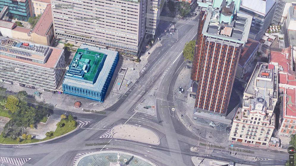 Foto: Sede de Barclays en la plaza de Colón de Madrid.