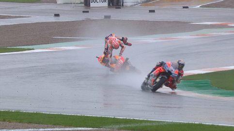 Cuando el sentido común (de Dovizioso) bate a Marc Márquez en una carrera de récord