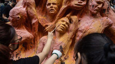 Limpieza de 'El pilar de la vergüenza' y protesta de Extinction Rebellion : el día en fotos
