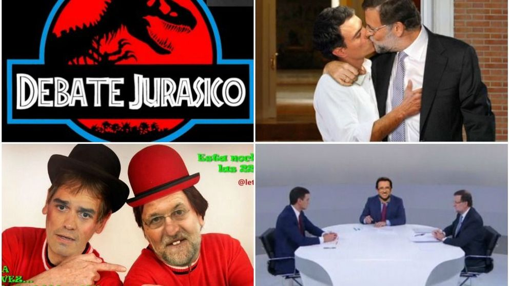 Cara a cara: El debate - Los mejores memes del duelo Sánchez vs Rajoy