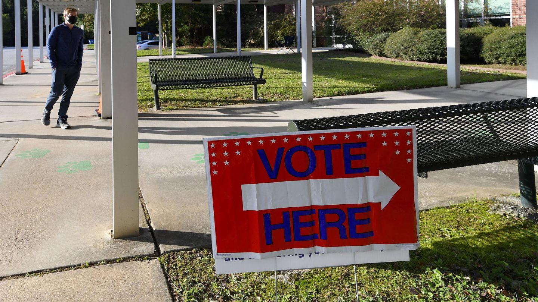 Colegio electoral en EEUU. (Reuters)