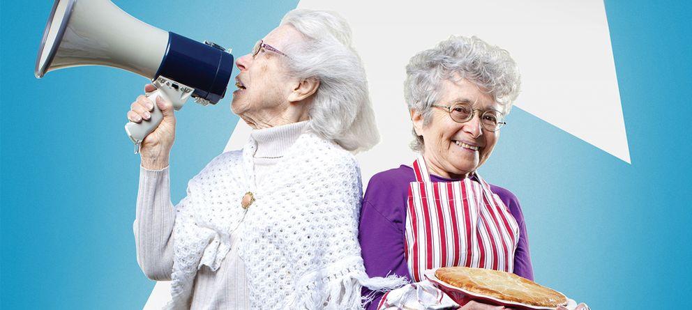 Foto: Shirley y Hinda, las dos protagonistas de 'Two raging grannies'