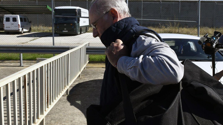 El exvicepresidente del Gobierno, Rodrigo Rato, entrando en la prisión de Soto del Real en 2018. (EFE)