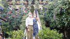 Felipe y Letizia ponen fin a su día andaluz en los tradicionales patios de Córdoba