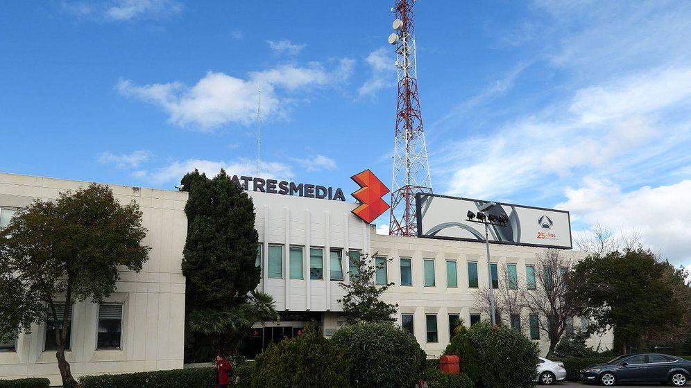 Foto: Exterior de la sede de Atresmedia en Madrid.