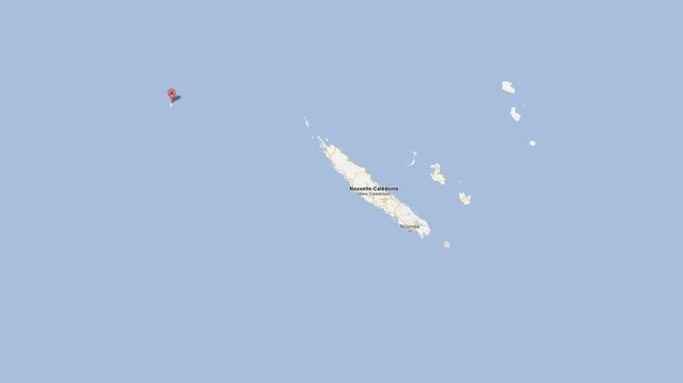 Foto: La misteriosa isla del Pacífico que existió solo durante una década por una 'broma'. (Google Maps)