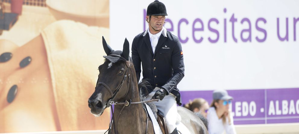 Foto: José Bono Rodríguez, durante una competición (Gtres)
