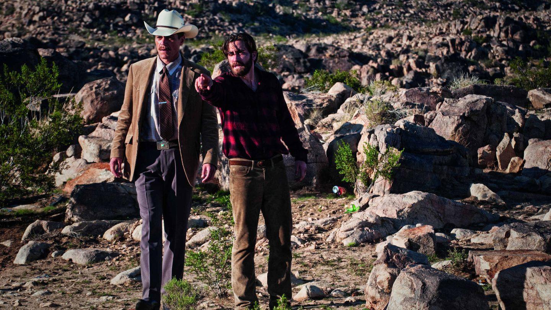 Michael Shannon y Jake Gyllenhaal, en 'Animales nocturnos'.