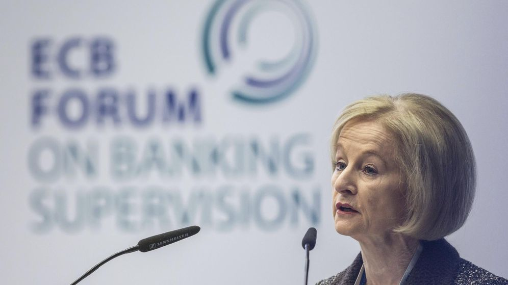 Foto: La presidenta del Consejo Supervisor del Banco Central Europeo, Daniele Nouy,
