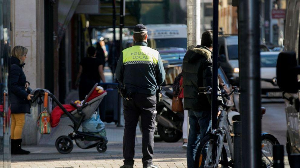 Detenido en Vitoria por presunta agresión a su pareja en plena calle