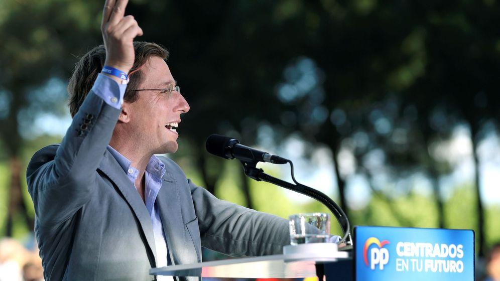 Foto: El candidato popular al Ayuntamiento de Madrid, José Luis Martínez-Almeida. (EFE)