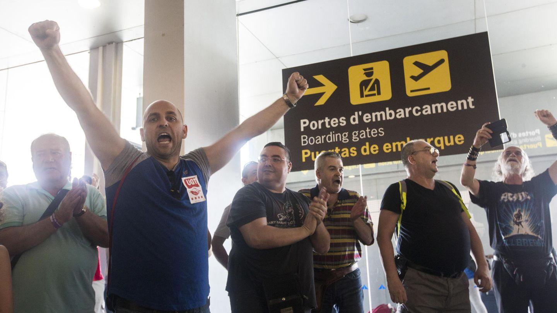 Los huelguistas han aplazado los paros tras el atentado en las Ramblas de Barcelona. (EFE)