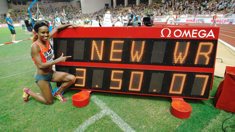 Dibaba bate el récord mundial de 1.500 femenino, vigente desde 1993