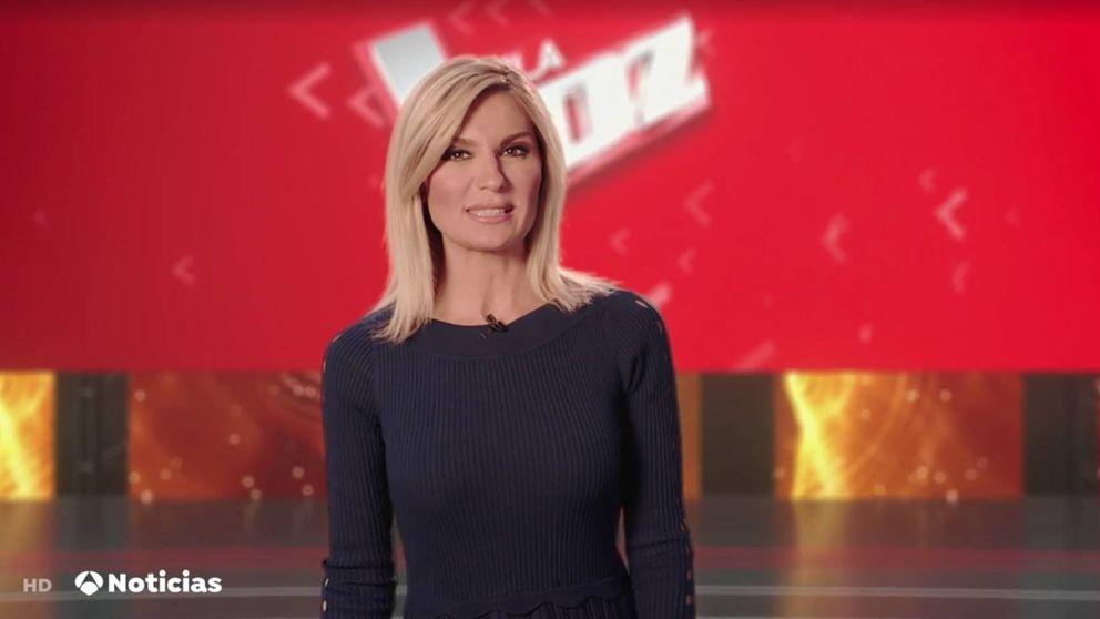 Sandra Golpe se adentra en 'La Voz' gracias a la realidad inmersiva
