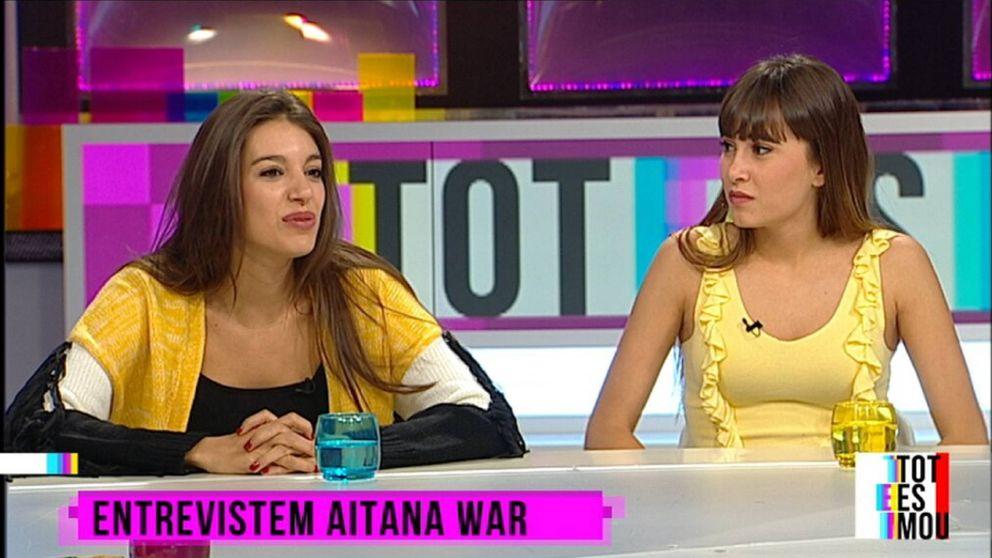 Ana Guerra, Aitana y su polémica vestimenta en TV3