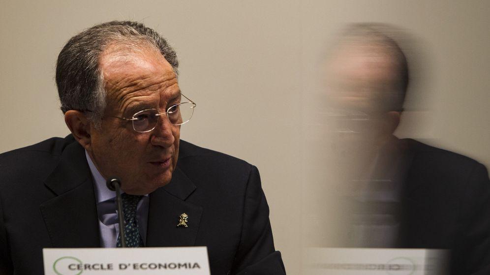 Foto: El director del CNI, Félix Sanz Roldán, pronuncia una conferencia en el Círculo de Economía de Barcelona. (EFE)
