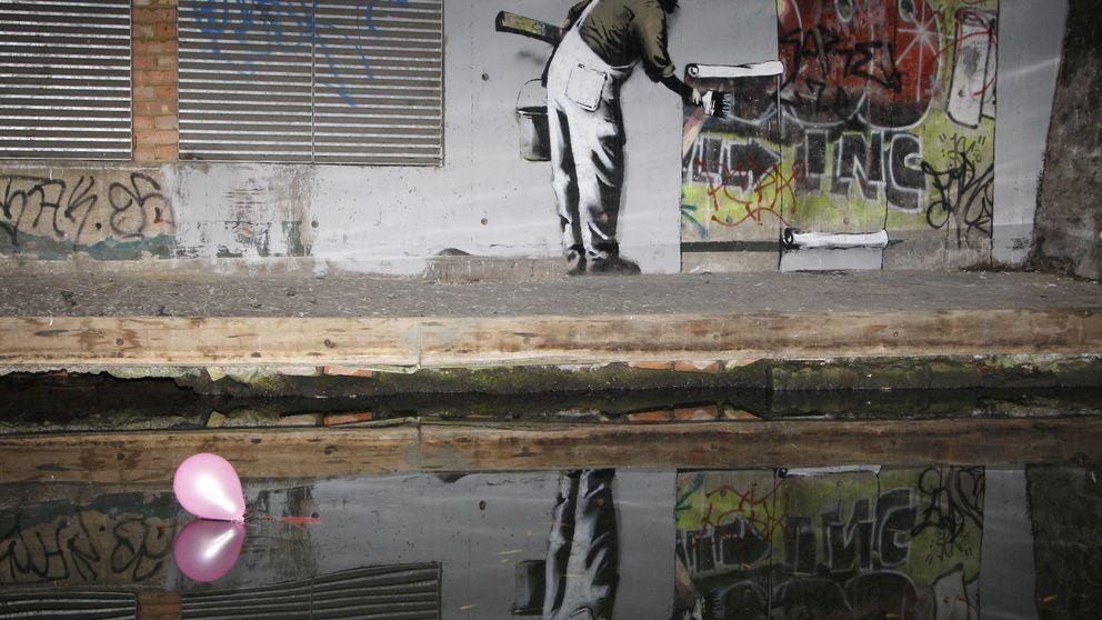 Las mejores intervenciones de Banksy, en imágenes