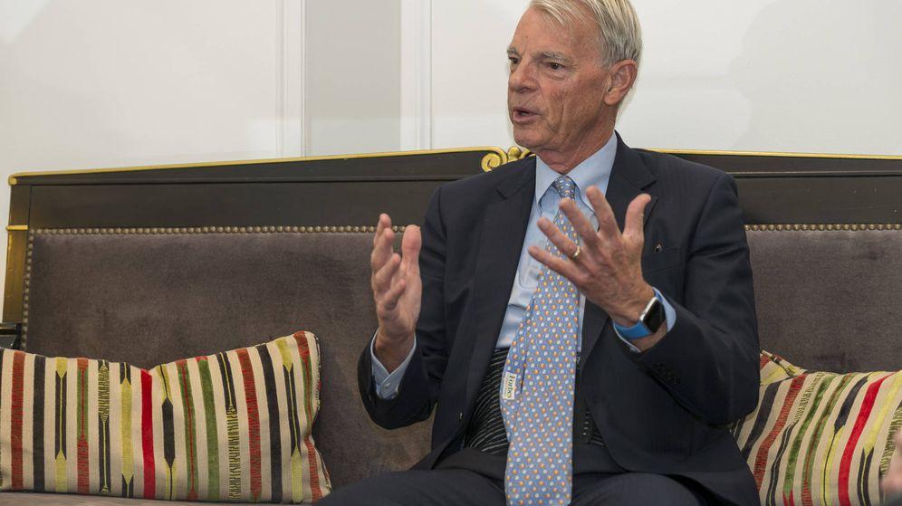 Foto: El premio Nobel de Economía, Michael Spence. (Foto: Rolando Gil)
