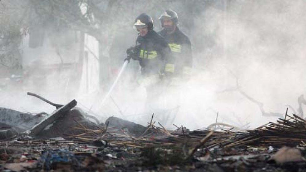Una explosión en una industria pirotécnica cerca de Santiago causa graves daños