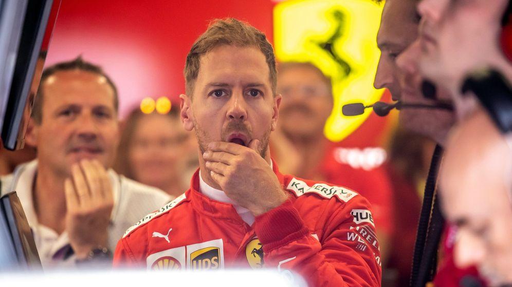 Foto: Sebastian Vettel en la última carrera. (EFE)
